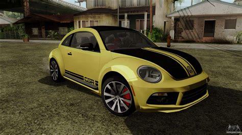 Volkswagen Beetle New by Volkswagen New Beetle 2014 Gsr For Gta San Andreas