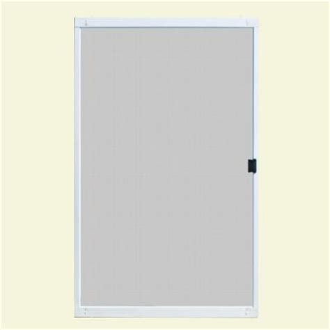 patio door screens home depot unique home designs standard 48 in x 80 in metal white
