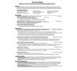 veterinarian sample resume cvtips - Resume Biomedical Science