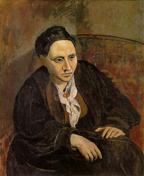 picasso paintings new york pablo picasso portrait of gertrude stein 1906