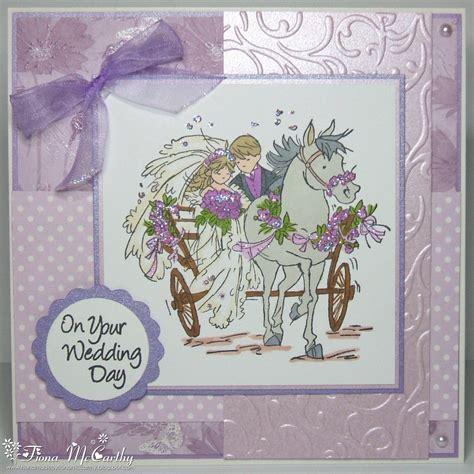 wedding card handmade by fiona mccarthy wedding card for a few challenges