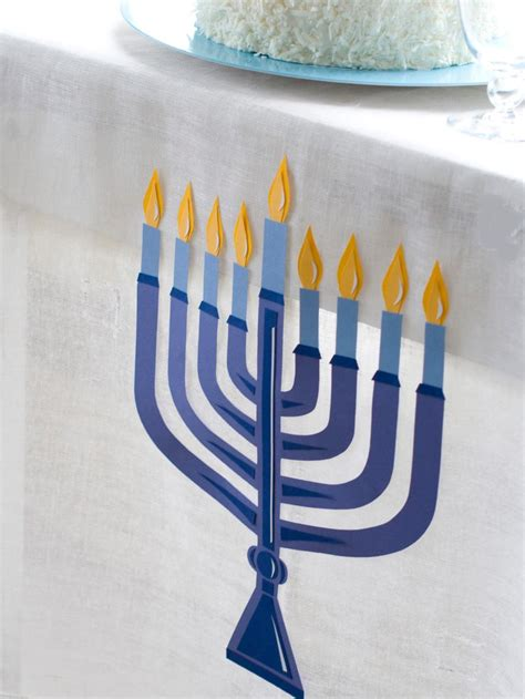 hannukah decor celebrating hanukkah easy and stylish