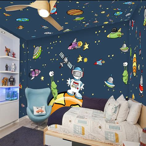 Neon Bedroom Ideas online buy wholesale ceiling wallpaper galaxy from china