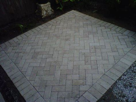 patio paver patterns herringbone pattern for patio pavers outdoor decor