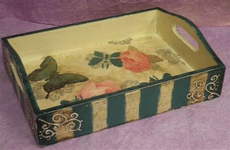 decoupage tray ideas 134 best images about bandejas decoradas on