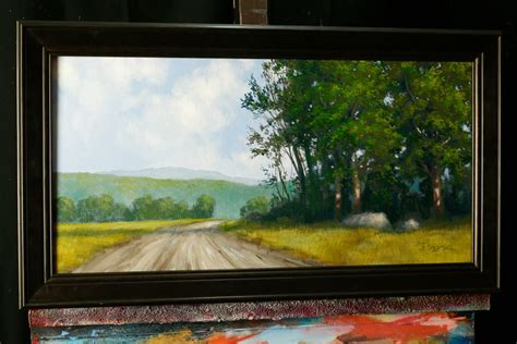 acrylic painting classes jacksonville fl the bend between trees an acrylic painting lesson