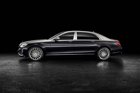 Black Maybach by Bach In Black Mercedes Maybach S Class Gets New Look