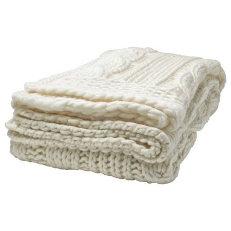 ikea cable knit throw ikea annbritt throw cable knit wool blend knitted blanket