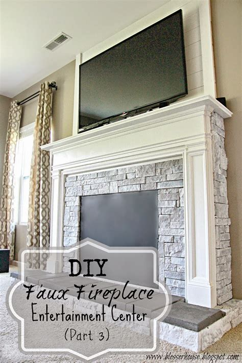 Wood Around Bathtub by Diy Faux Fireplace For Under 600 The Big Reveal Bless
