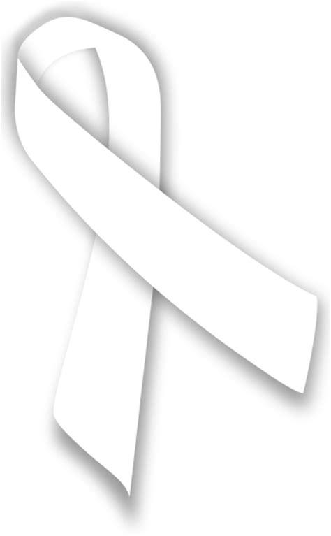 white ribbon file white ribbon svg