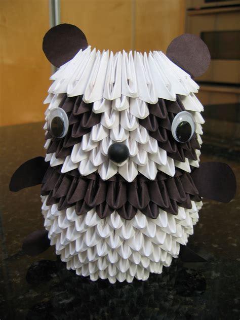 how to make 3d origami panda 3d origami panda spoki
