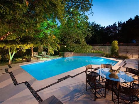 backyard makeover with pool before and after a modern backyard garden and pool