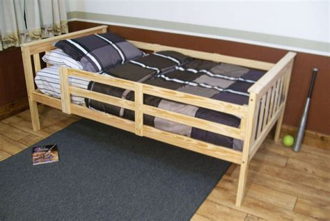 safety rails for bed platform bed with guard rail versa style or size