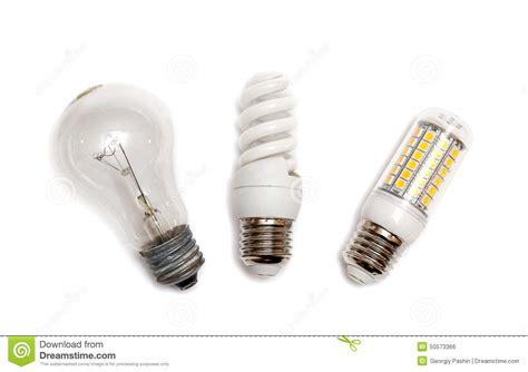 types of light bulbs different types of light bulbs stock photo image 50573366