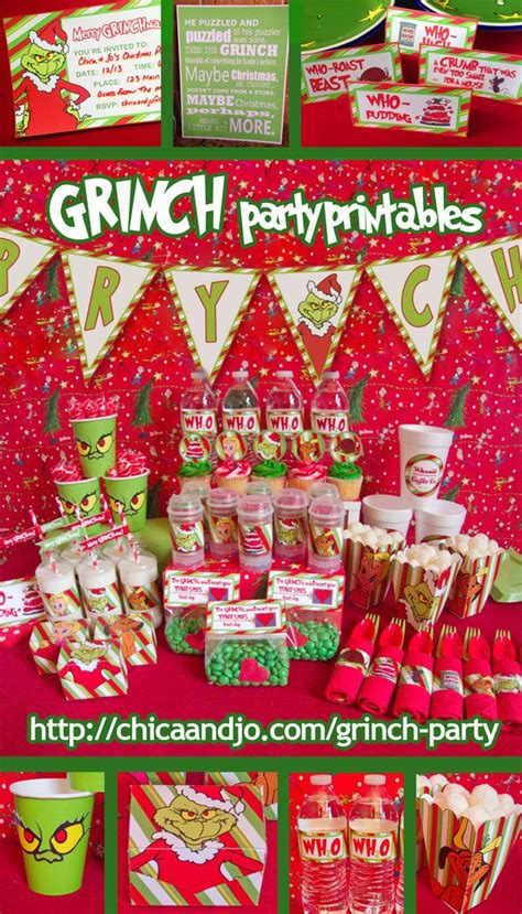 grinch theme best 25 grinch ideas on grinch