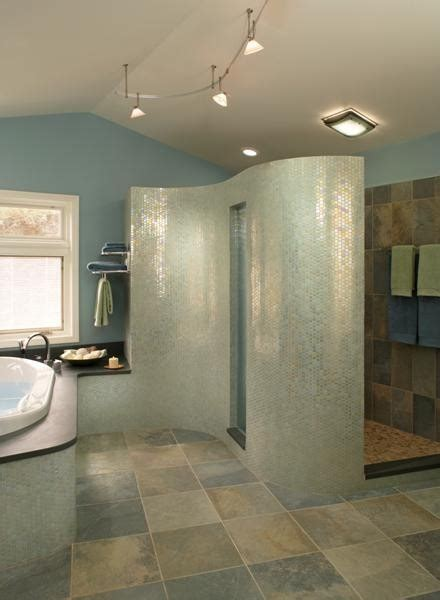 bathroom shower wall material what material is the curved shower wall