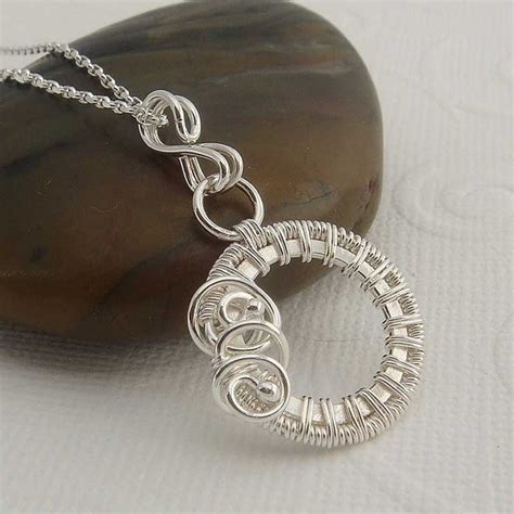 wire wrapping wire wrap jewelry addicted to wire necklaces