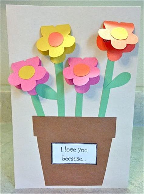 crafts made from construction paper s day construction paper vase family crafts