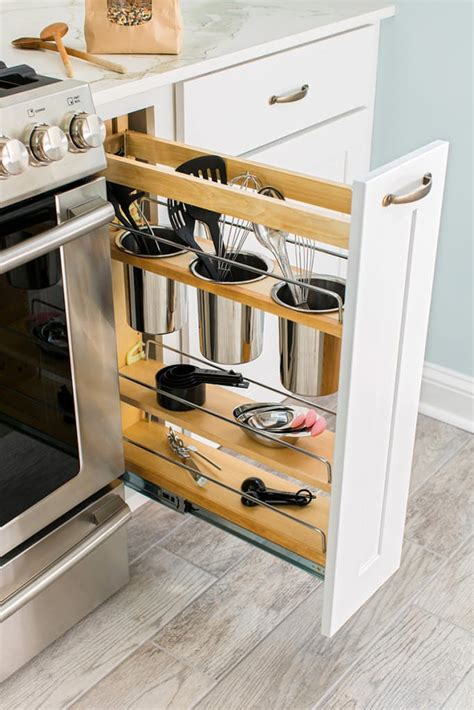 Kitchen Corner Cabinet Storage Ideas 24 creative small kitchen storage ideas shelterness