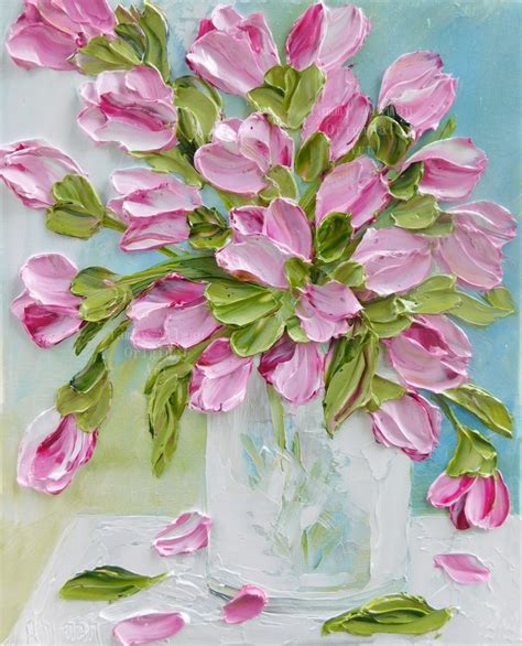 flower painting best 25 painting flowers ideas on