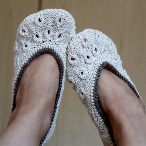 knitted slipper pattern slipper patterns to knit 171 free patterns