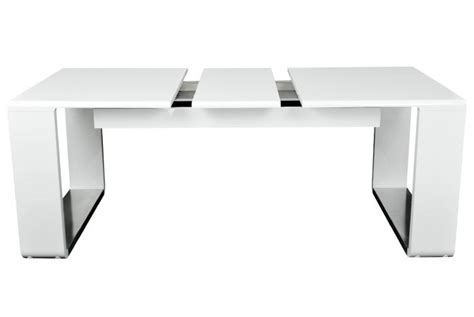 table design blanche extensible