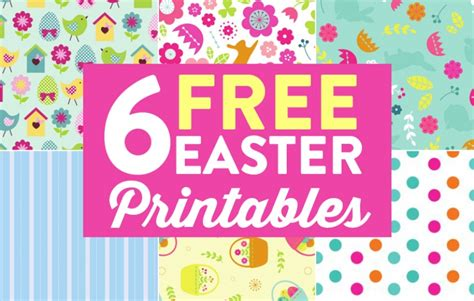 easter paper crafts free 6 free easter printables paper craft