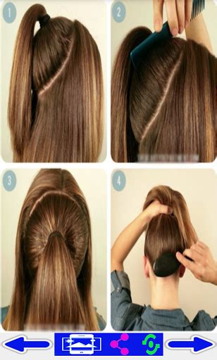 step by step guide to a beauitful hairstyle paso a paso peinados android market
