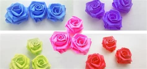 paper strips craft paper craft make small roses with paper strips