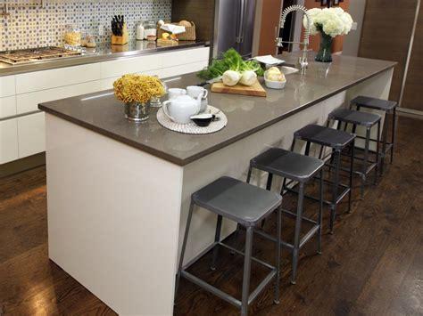 kitchen island chairs or stools kitchen island with stools kitchen designs choose kitchen layouts remodeling materials hgtv