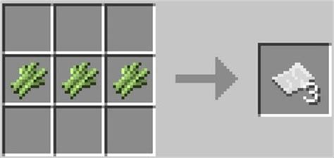 crafting recipe for paper advanced crafting recipes list for minecraft windows 10