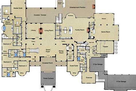 mediterranean mansion floor plans mediterranean house plans veracruz 11 118 associated
