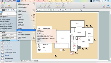 security floor plan security and access plans how to draw a security and