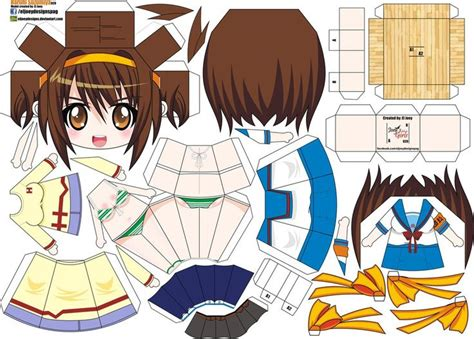 paper crafts anime 72 best papercrafts images on paper toys