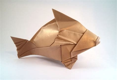 origami trout origami trout tutorial origami handmade