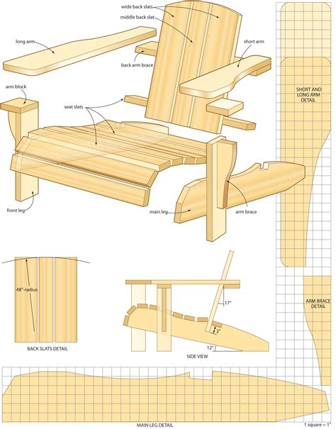 free plans woodworking muskoka chair plans free plans free