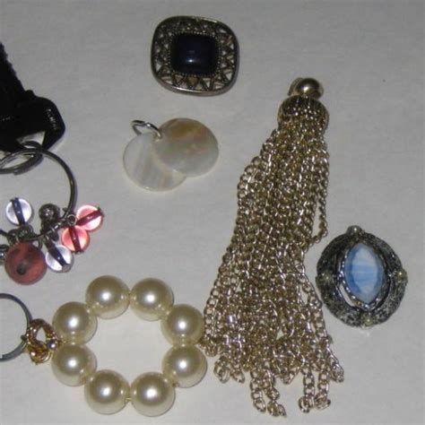 make your own costume jewelry make your own keychain with costume jewelry