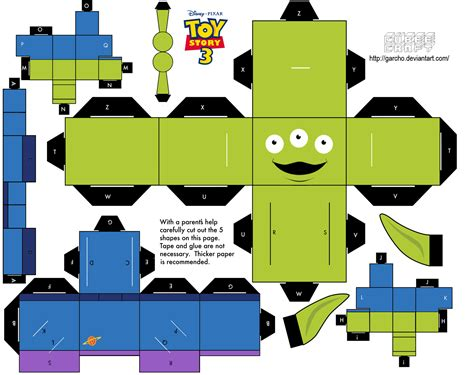 papers craft cubeecraft templates papercraft story paper
