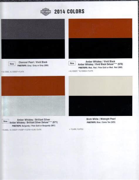paint colors harley davidson harley paint codes 2014 autos weblog