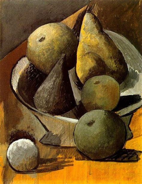 picasso paintings fruit pablo picasso compotier aux poires et pommes 1908