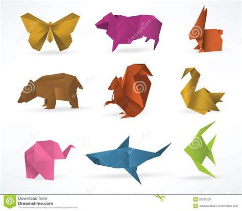 origami farm animals origami animals royalty free stock images image 33766209
