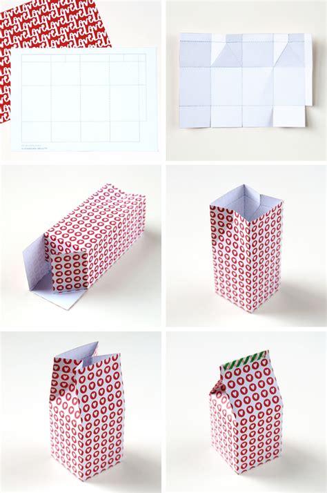 how to make a gift card box diy printable milk gift boxes gathering