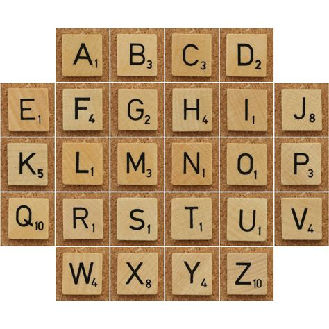 scrabble using all letters wood scrabble tiles a photo on flickriver