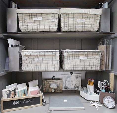 organized home office design ideas for the small home office
