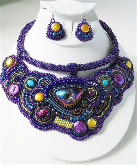 beaded embroidery saby beaded embroidery collar beadage