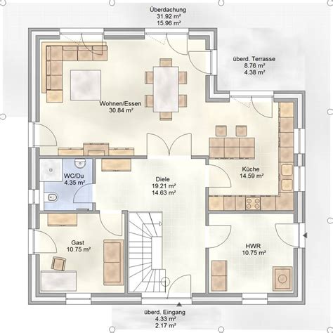 Dan Wood Haus Leipzig by Grundriss Villa Erdgeschoss Raum Und M 246 Beldesign Inspiration