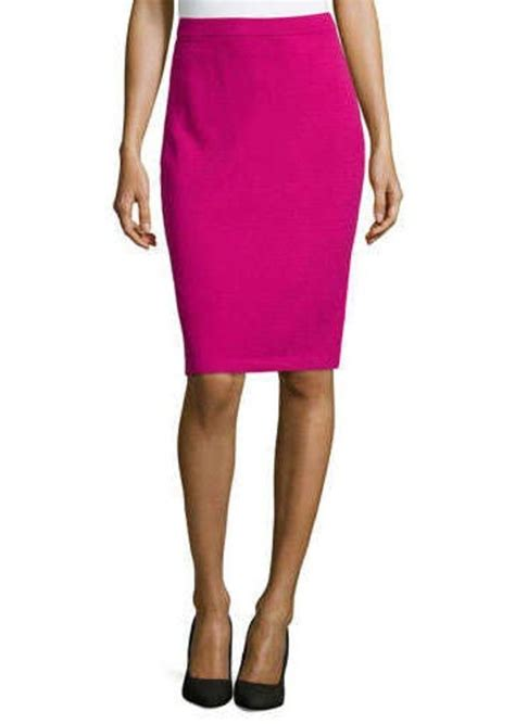 pull on knit pencil skirt st st collection pull on knit pencil skirt