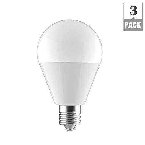 e12 light bulb led ecosmart 60w equivalent soft white a15 e12 base led light
