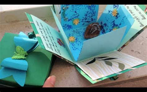how to make a card box for a wedding exploding box card and bow diy