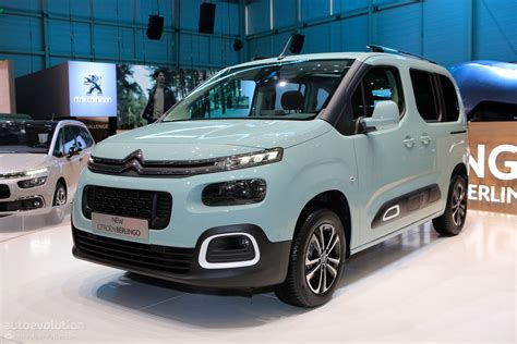 Citroen Berlingo Multispace by 2018 Citroen Berlingo Multispace Joins Facelifted C4